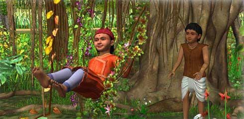Animated Jungle Wallpaper Shri Swaminarayan Charitra Animation Movies On The