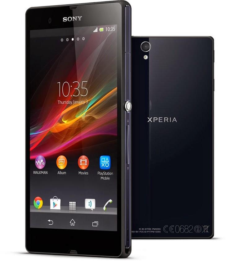 spesifikasi dan harga Sony Xpeia Z