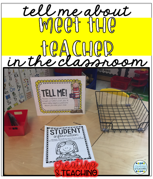 What Does Meet the Teacher Look Like?