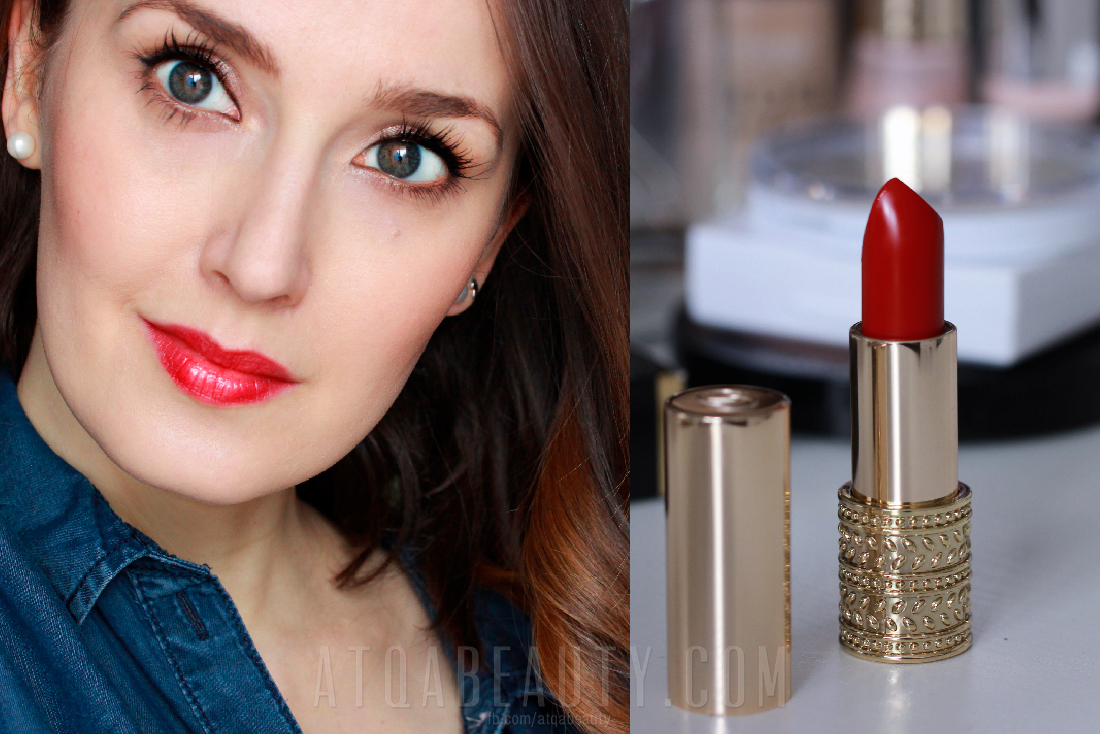 Atqa :: Oriflame Giordani Gold Jewel Lipstick Red Attraction