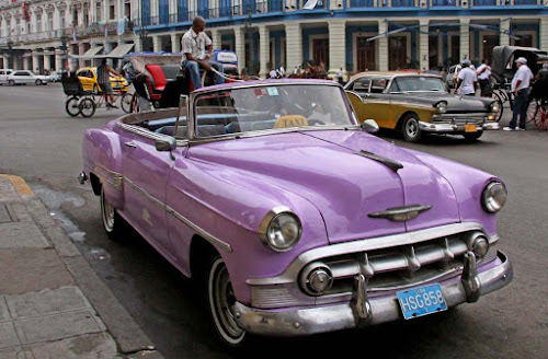 Havana carros antigos