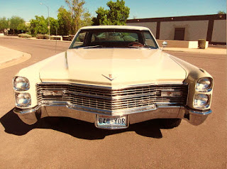 1966 Cadillac Coupe DeVille Front