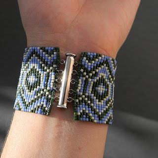 купить авторский браслет из бисера фото цена браслет в стиле этно