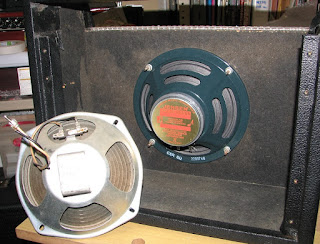 The picture of cabvinet which mounts Jensen speaker