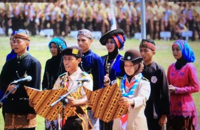 Perkemahan Pramuka Madrasah Nasional, Ribuan Siswa Ikrarkan Cinta NKRI
