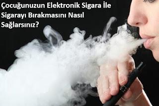 çocuğunuzun elektronik sigara i̇le sigarayı bırakmasını nasıl sağlarsınız