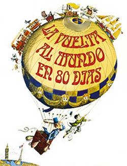 Portada libro vuelta al mundo 80 dias descargar pdf gratis