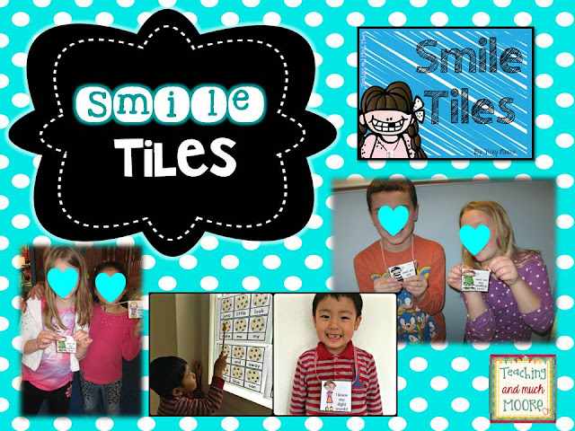 smile tiles, just like brag tags to build community and reward behavior