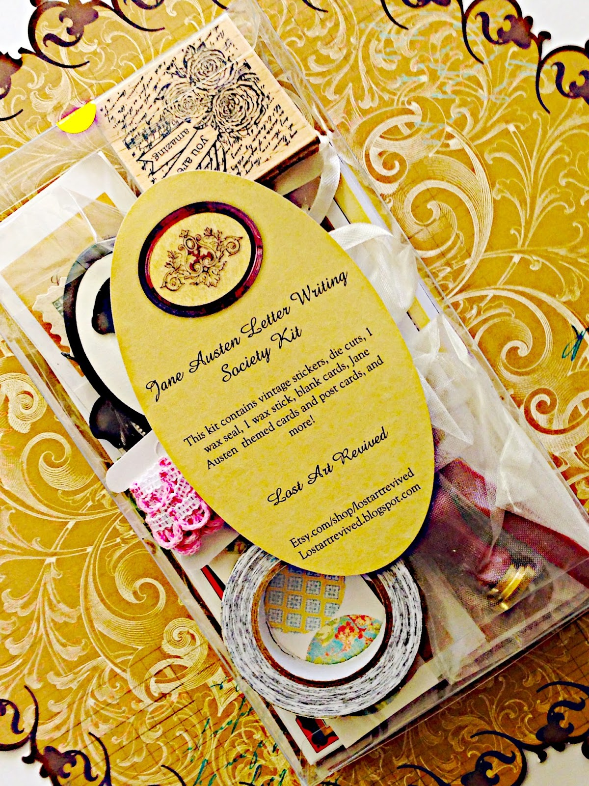 The jane austen letter writing society available in shop spiritdancerdesigns Choice Image