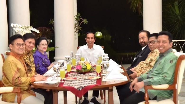 Ketum Parpol Sepakati 1 Nama Cawapres untuk Dampingi Jokowi