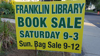 Library Book Sale weekend