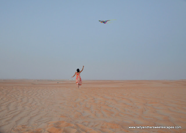 Kite Flying in Tilal Liwa