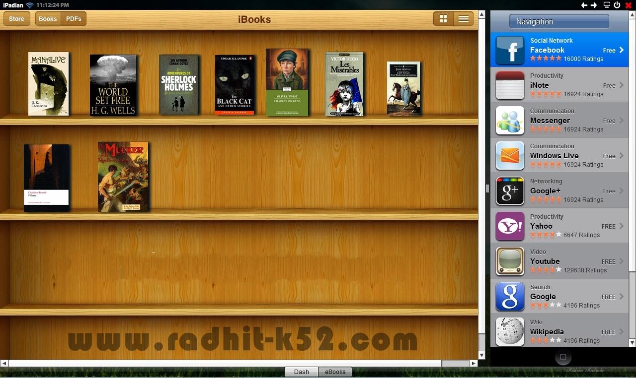 Ipadian   Komputer Rasa Ipad radhit-k52   Download Software Full Version