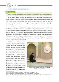 8. Sınıf Kuranı Kerim Ders Kitabı Cevapları Dikey Yayınları Sayfa 10
