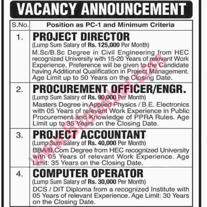 Vacancy Announcement In University of Karachi 2018
