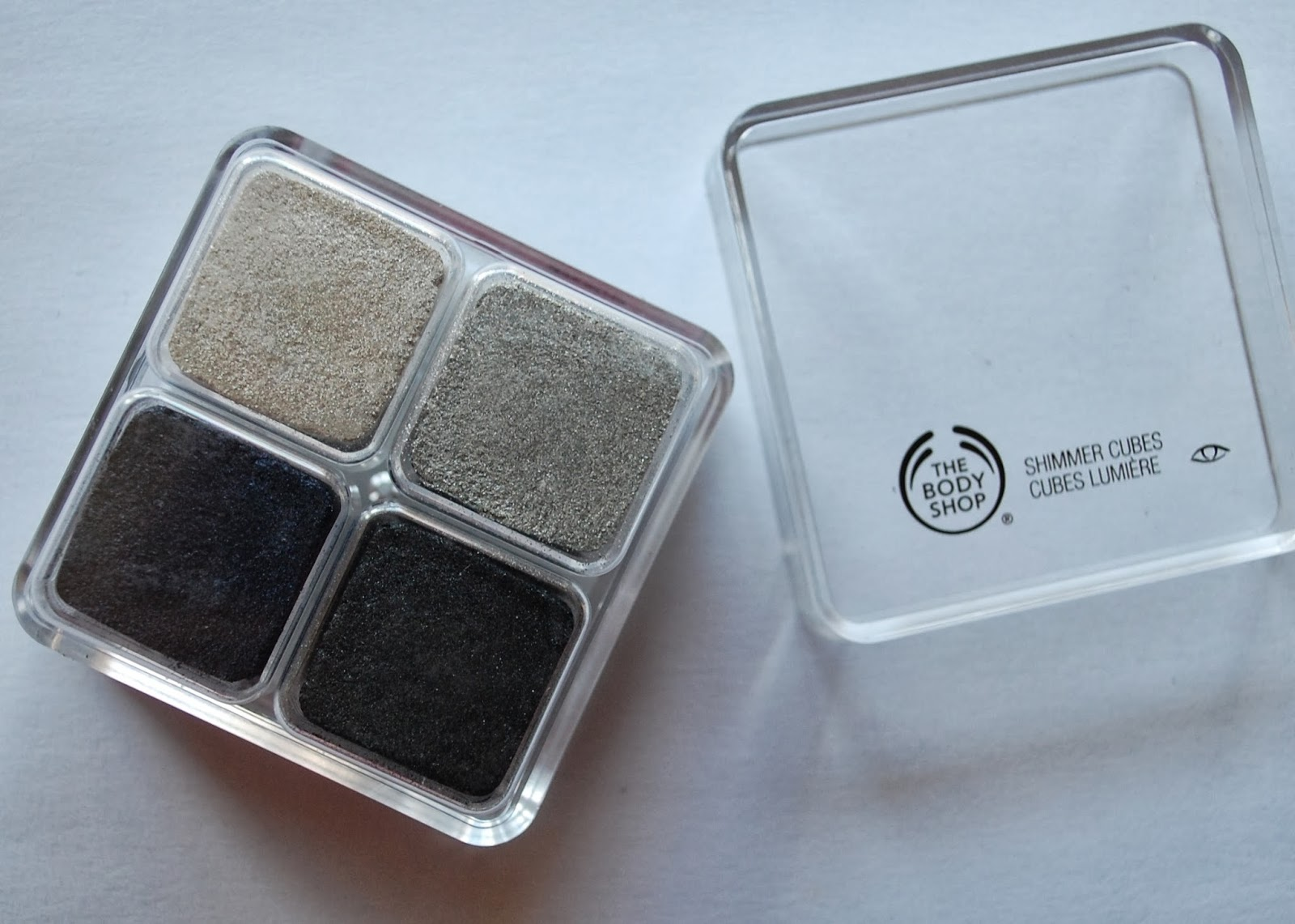 782b08532ca The 4 shades in this cube complement each other beautifully! They are all  shimmer shades and the thin texture of the shadows allow them to be easily  blended ...