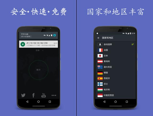 搜羅VPN 翻牆App