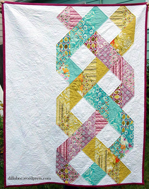 A Birthmother's Quilt Free Pattern designed by Deanna of Zuzuberry Crafts
