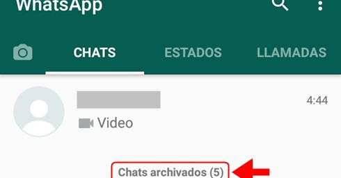 ver conversaciones archivadas whatsapp web