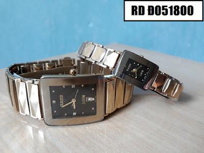 đồng hồ cặp đôi rado đ051800