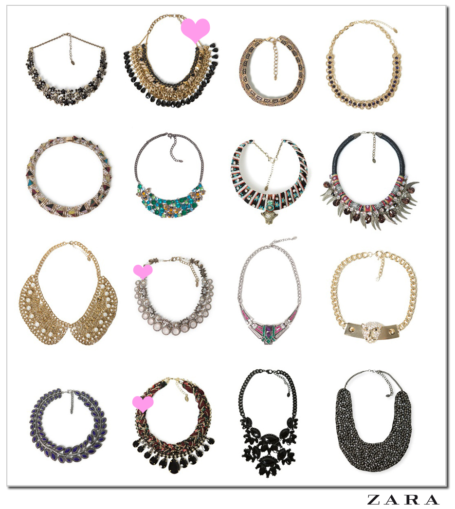 9482c9a45436 Miss Cosillass  Zara necklaces