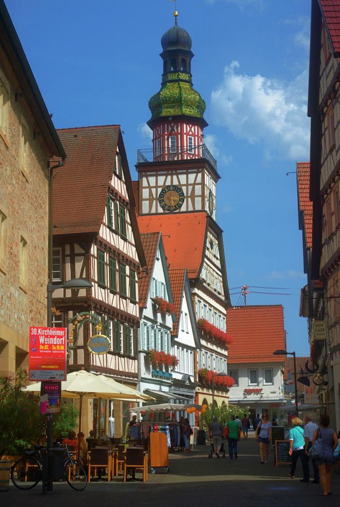 #157 Color-Agnar f9.5 26mm -DIY- Postkartenidylle aus Kirchheim/Teck