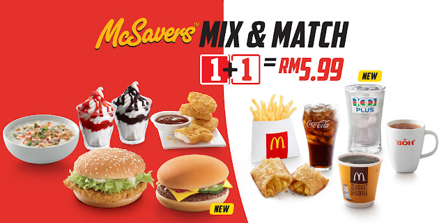 RM5.99 McSavers Mix & Match Promo