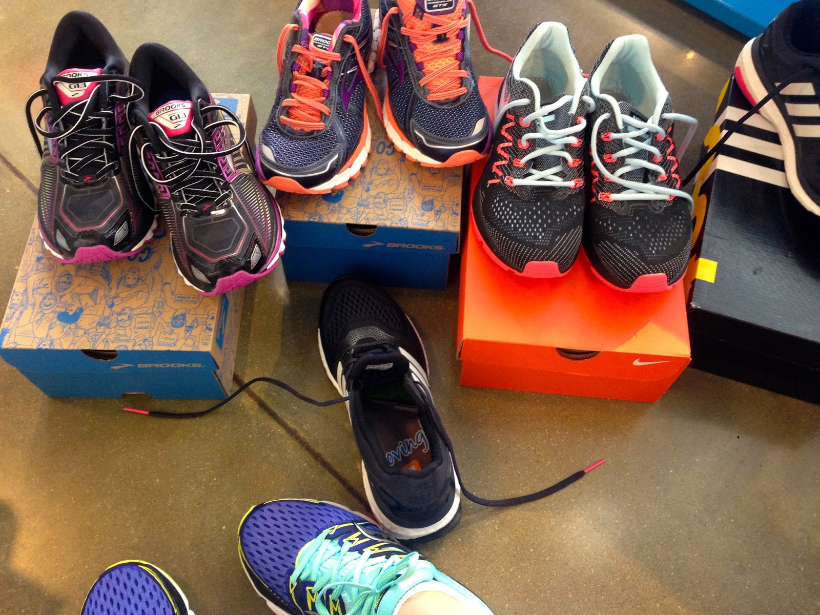 b6d2d0e1db8a The Fairest Run of All  In Which Jenn Gets New Sneakers At Road ...