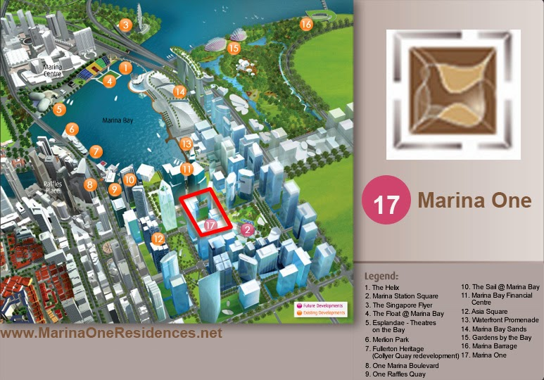 amenities near Marina One