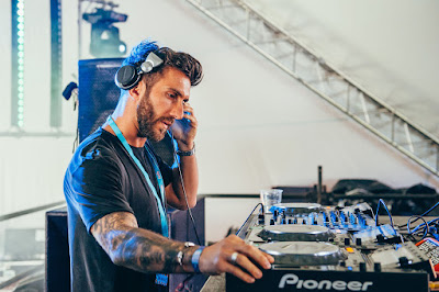 Knee Deep In Sound main man Hot Since 82 closing out The Switchyard at Eastern Electrics 2017.