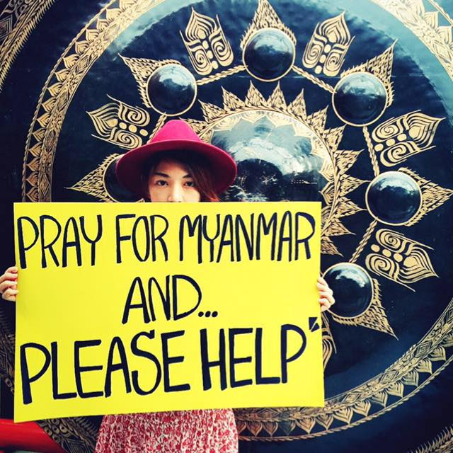 How Thai Actress Kaew Korravee Trying Help Myanmar Flood Victims
