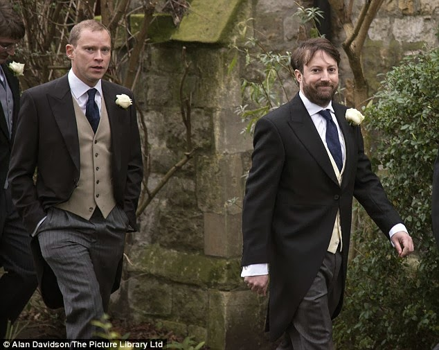 He Is Already Known As One Half Of A Double Act But Yesterday David Mitchell Officially Became Part Rather More Glamorous Duo The Actor Married