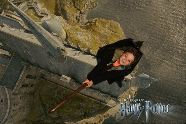 The Warner Bros. Studio Tour: Broomstick ride