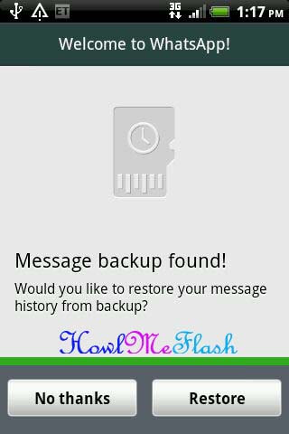 Get back Deleted Whatsapp Messages Manually