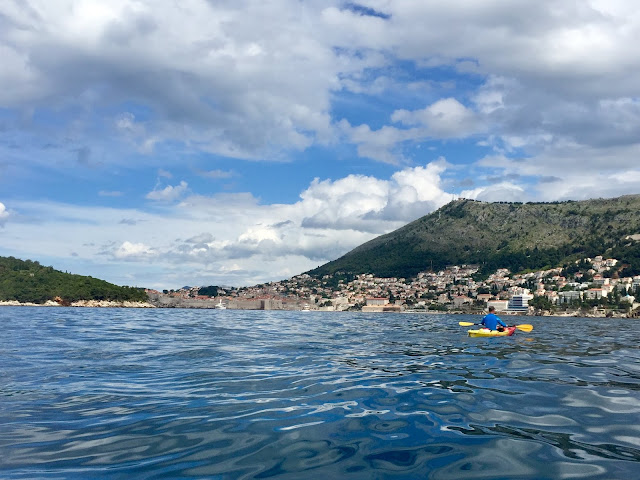 Sea kayaking around Dubrovnik, Croatia
