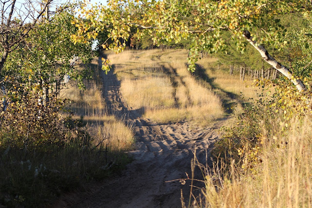 sandy trails for ATVs