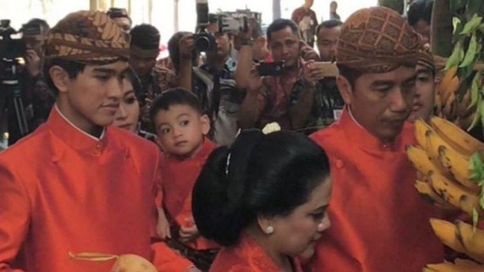 Bikin Gemes! Begini Tingkah Jan Ethes Cucu Jokowi di Keramaian Prosesi Adat Pernikahan Sang Tante