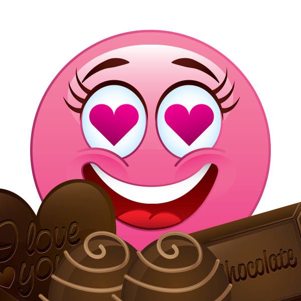 Love That Chocolate Emoji