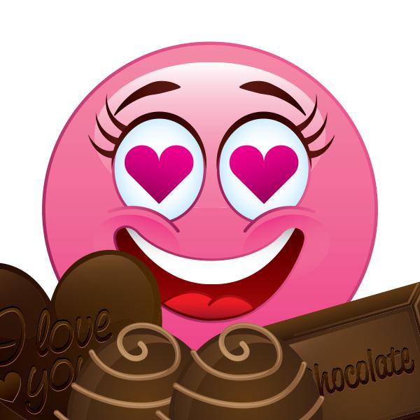 Love That Chocolate Emoji
