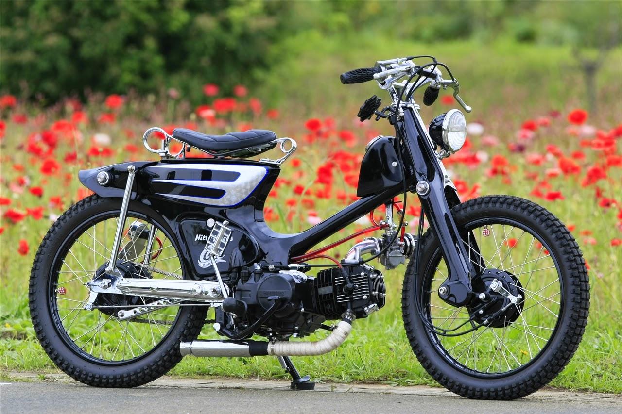 Gambar Modifikasi Sepeda Motor Jadul Koleksi Gambar Modif Motor Honda Keren Ottovariasi
