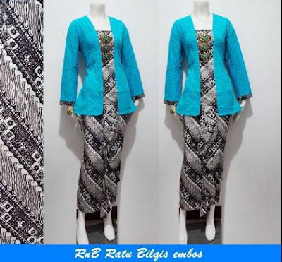 Gambar Model Baju Batik Untuk Kerja Terbaru