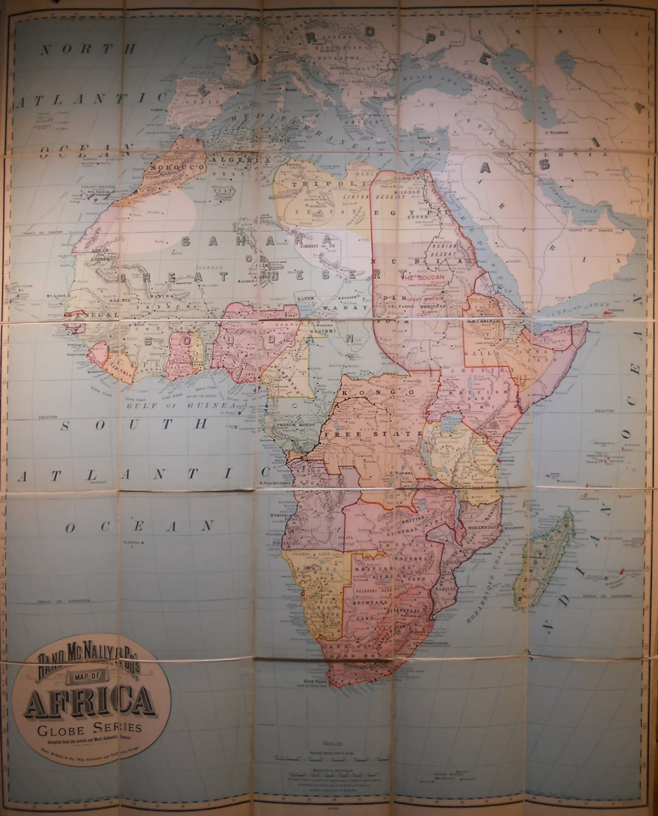Antique Prints Blog Maps Of The Scramble For Africa