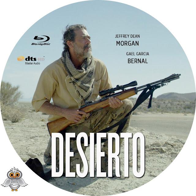 Desierto Bluray Label
