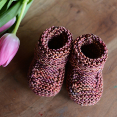 Baby's Booties  - Free Pattern