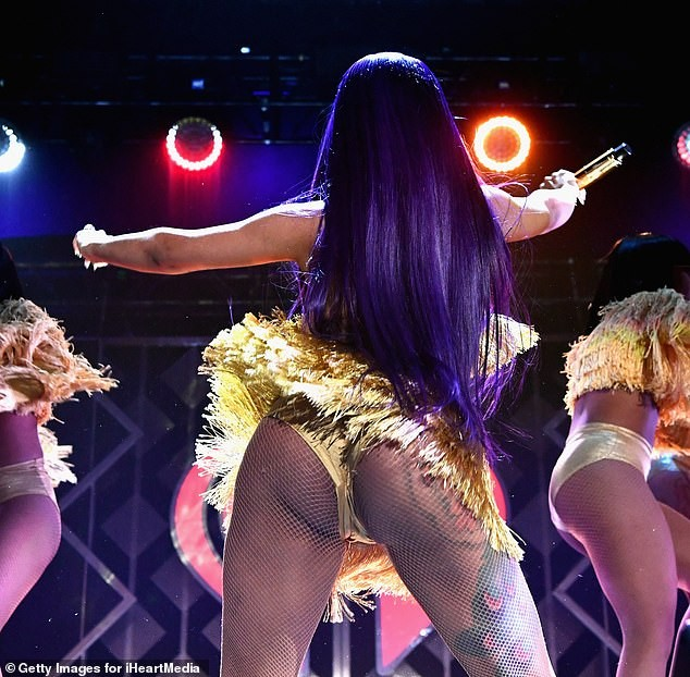 Cardi B Flaunts Her New B Utt Tattoo In Ig Video: Cardi B Flaunts Her Backside On Stage.