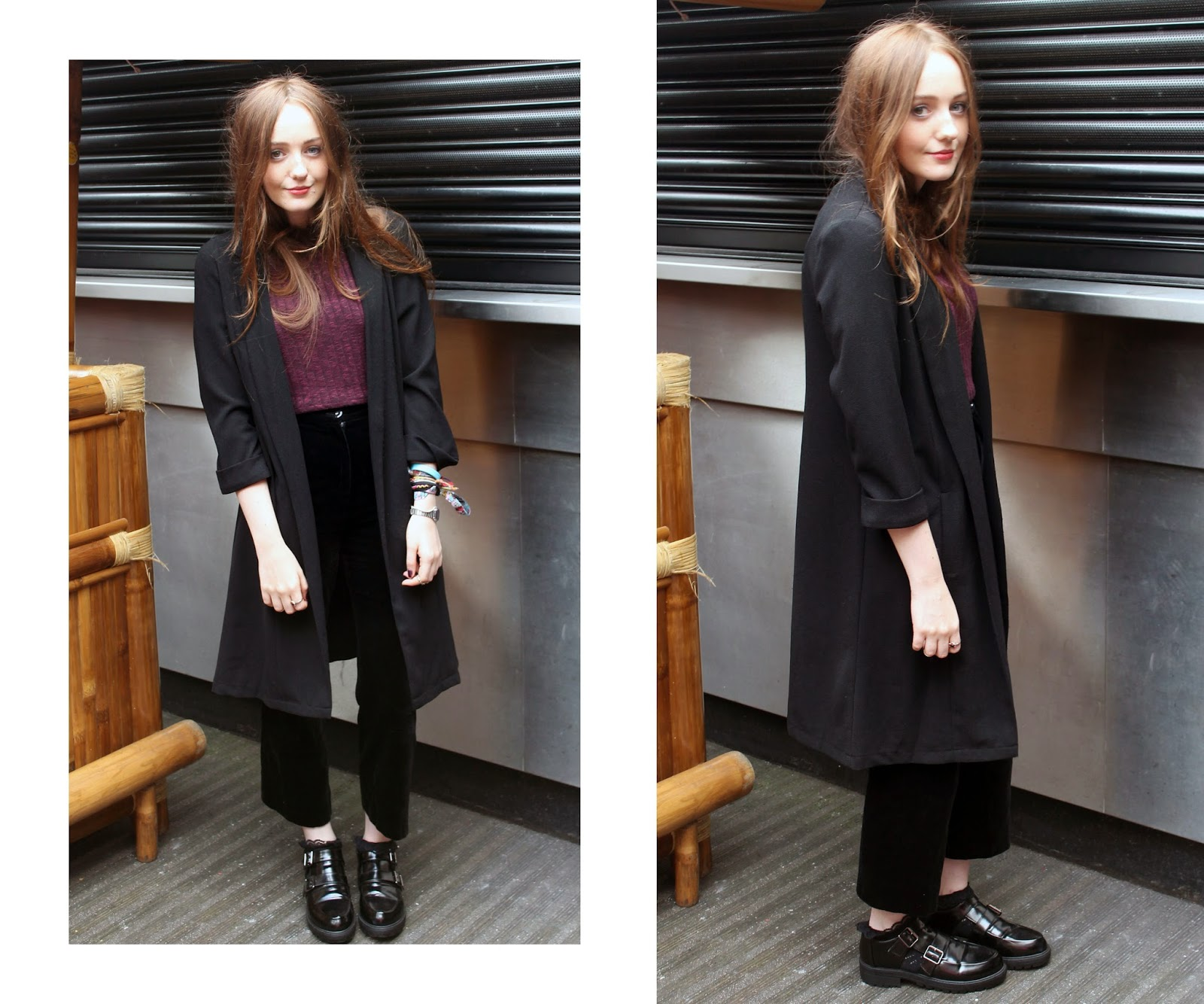 AX Paris press event AW14 OOTD