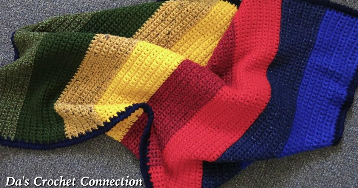 Da S Crochet Connection Color Bloc Blanket