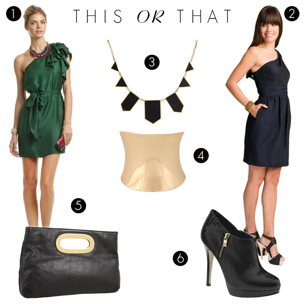 This OR That?  which dress should I wear to an Emmy party?
