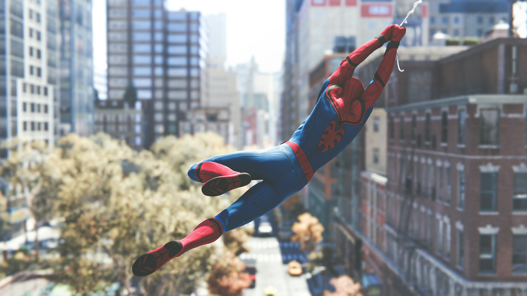 spider man ps4
