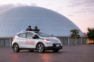 General Motors unveils world's first fully self-driving car with no steering wheel